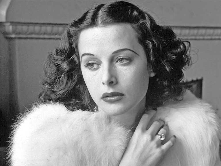 Hollywood actress Hedy Lamarr