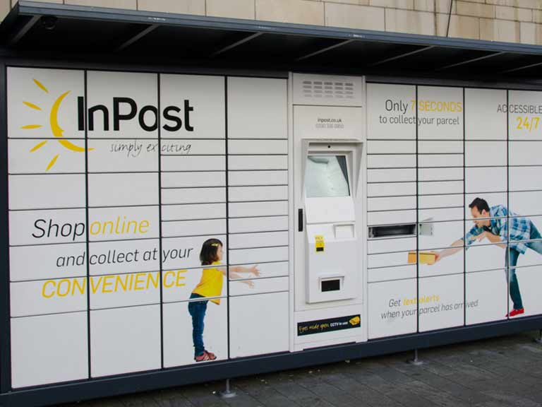 InPost lockers are a quick and easy way to retrieve your post || Paul J Martin / Shutterstock.com