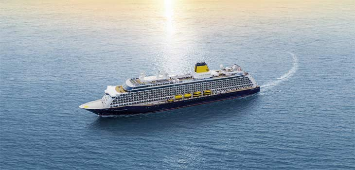 Artist impression of new Saga ship, Spirit of Discovery