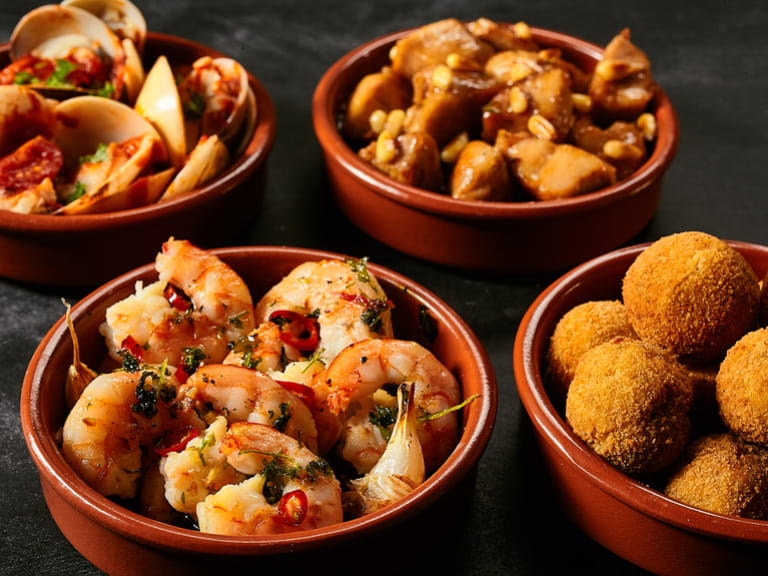 A selection of Spanish Tapas