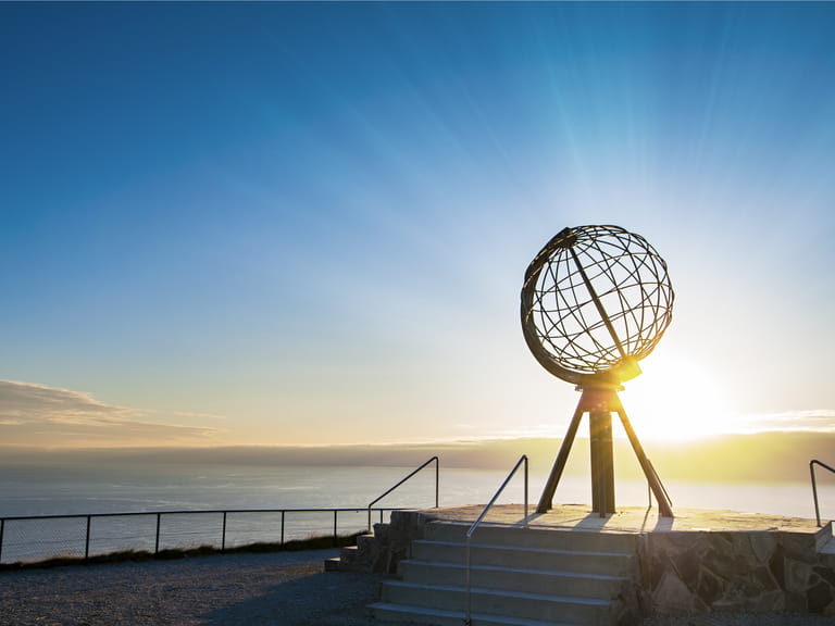 The North Cape globe