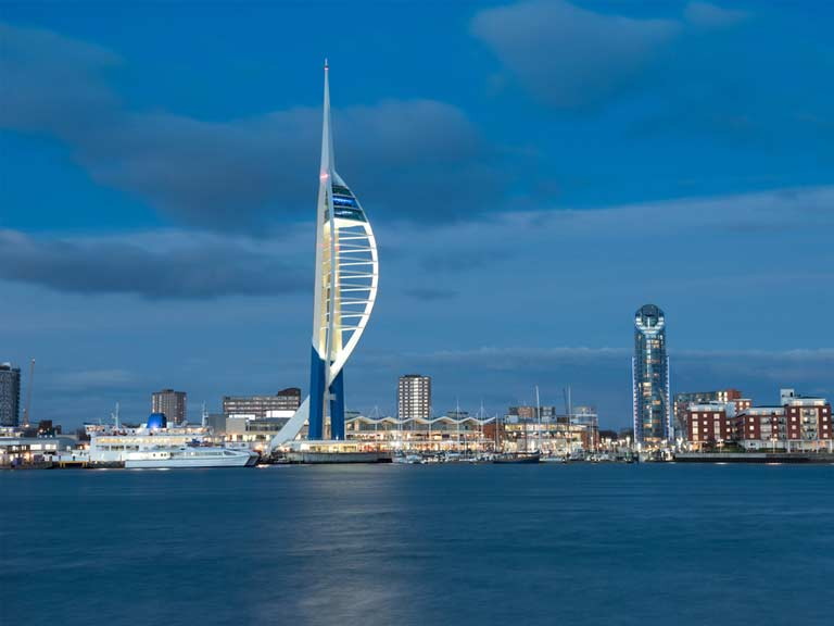 Emirates Spinnaker Tower in Portsmouth