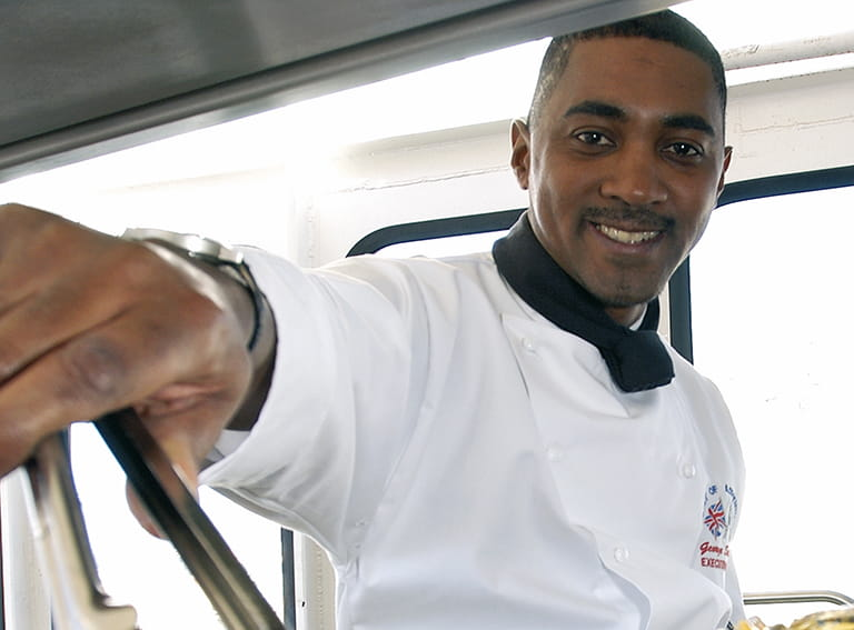 Executive chef, George Streeter.
