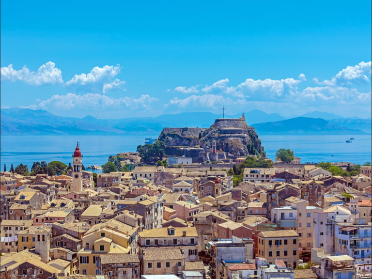 View of Corfu's Old Town
