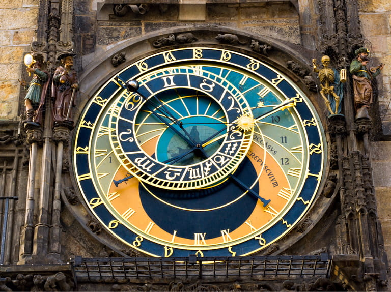 The Astronomical Clock, Prague, Czech Republic
