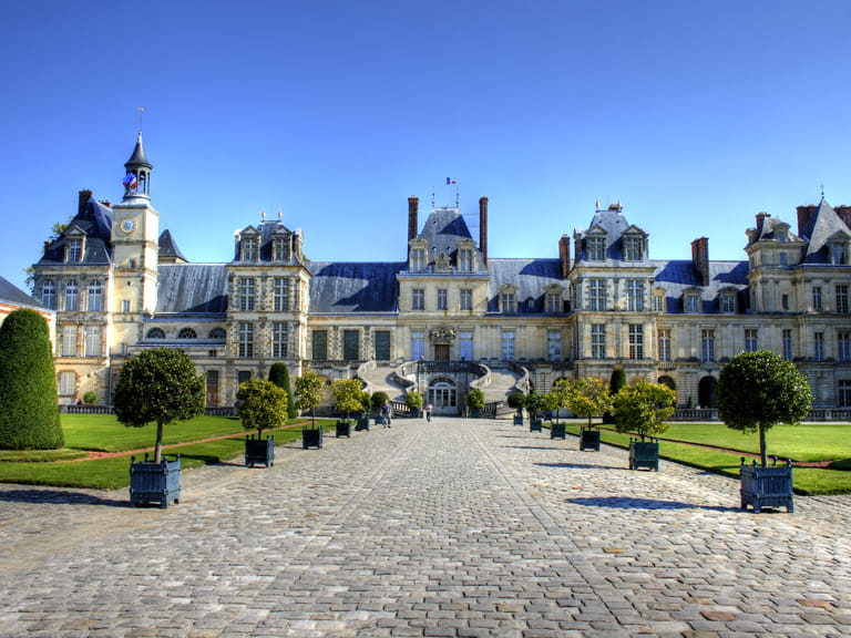 Chateau de Fontainebleau, Seine Valley, France