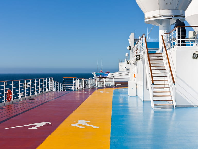 Keeping fit on a cruise