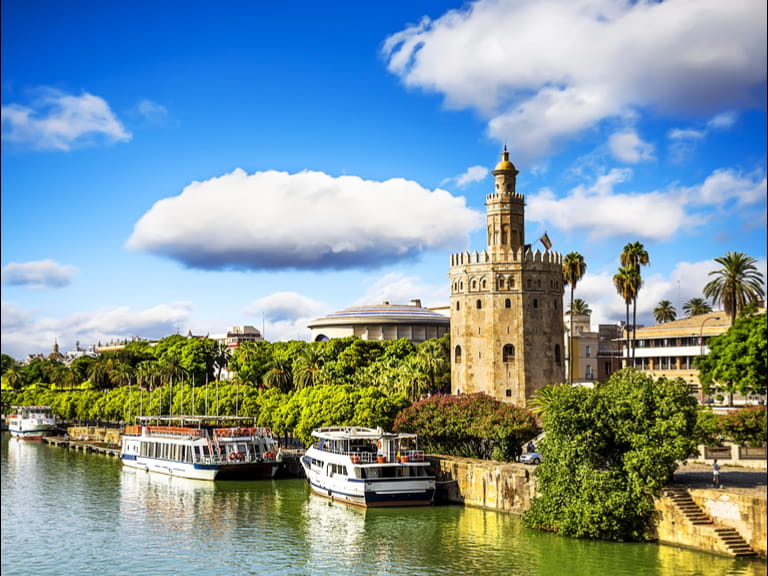 The Guadalquivir River, Seville