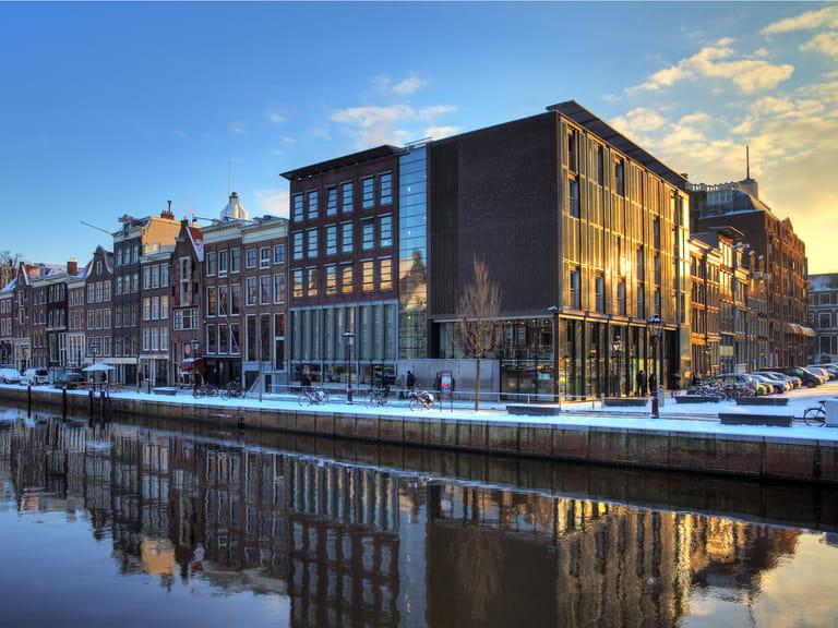 Anne Frank's House, Amsterdam, Holland