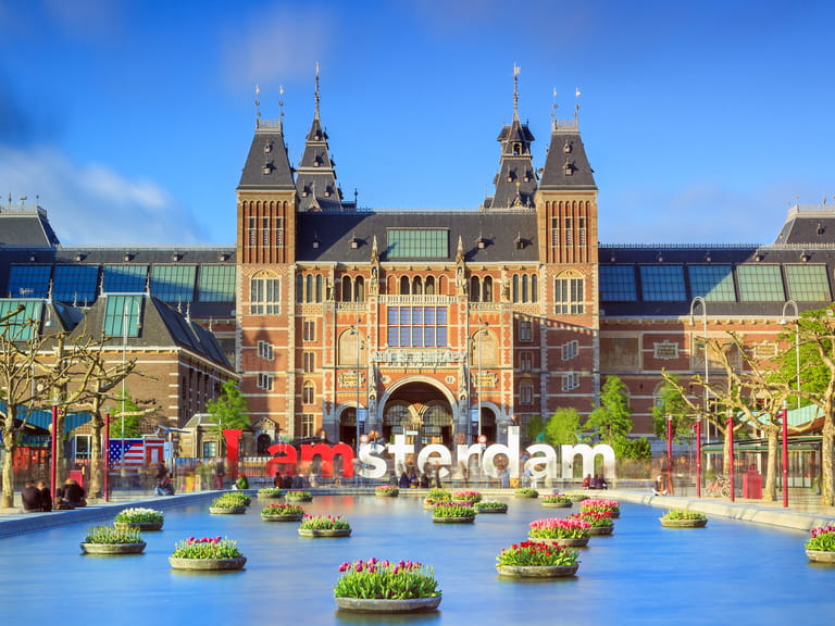The Rijksmuseum, Amsterdam, Holland