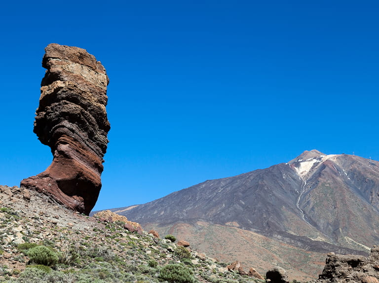 Mount Teide and it's surrounding area