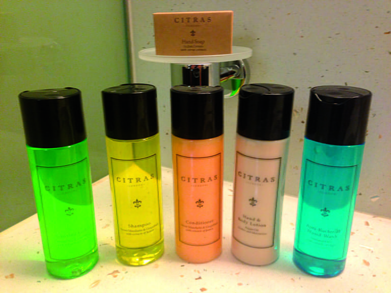 The Toiletries on-board Saga Sapphire