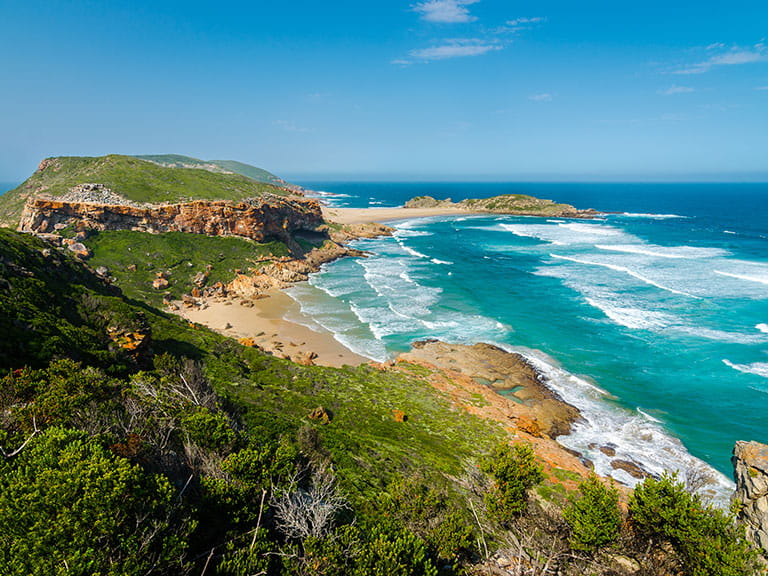 Robberg nature reserve near Plettenberg bay on South Africa's Garden Route