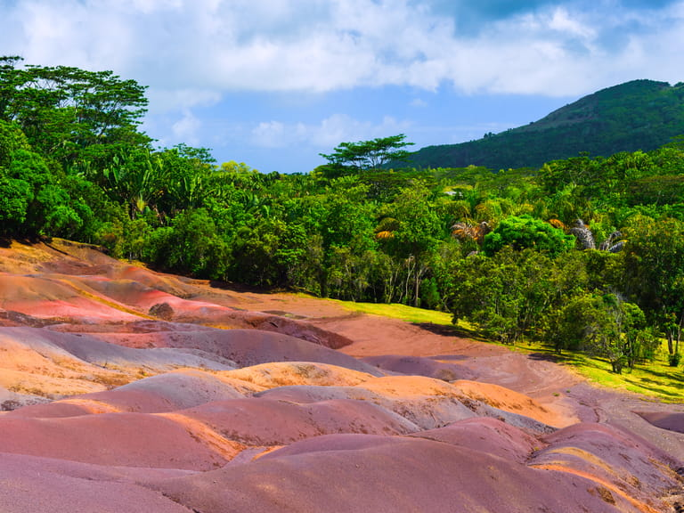 Seven coloured sands, Chamarel