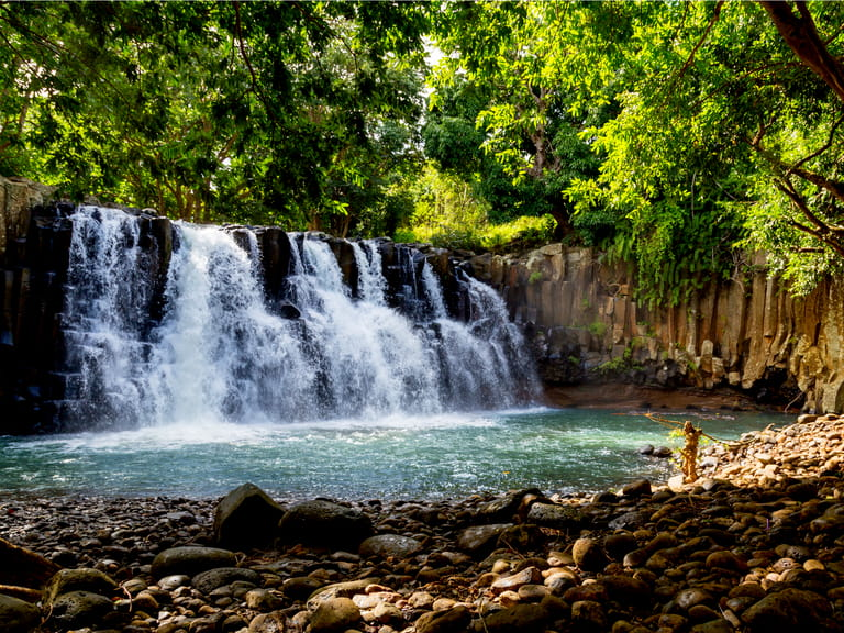 The waterfalls of Soillac, Mauritius