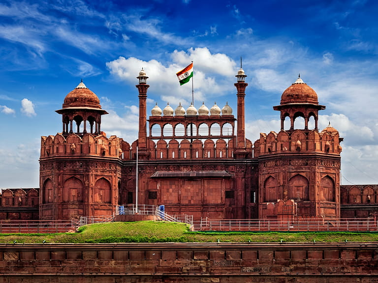 The Red Fort, Dehli