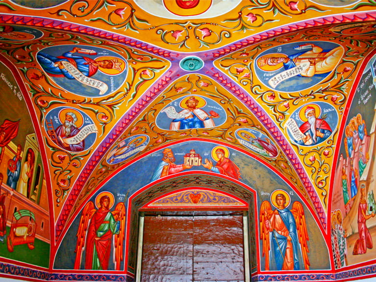 Painted churches in the Troodos Mountains