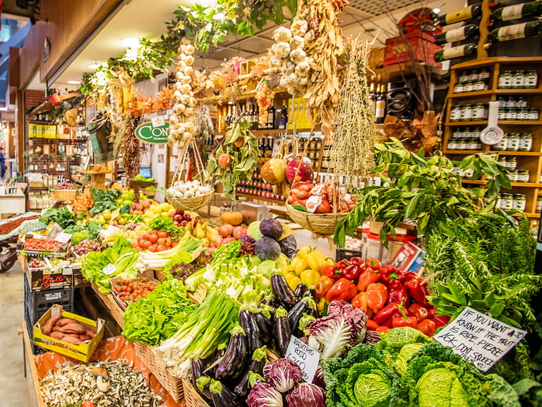 Best Food Markets In Bologna Italy