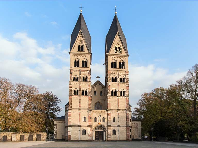 Basilica of Saint Castor in Koblenz, Germany