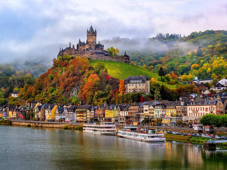 Reichsburg Castle and Cochem