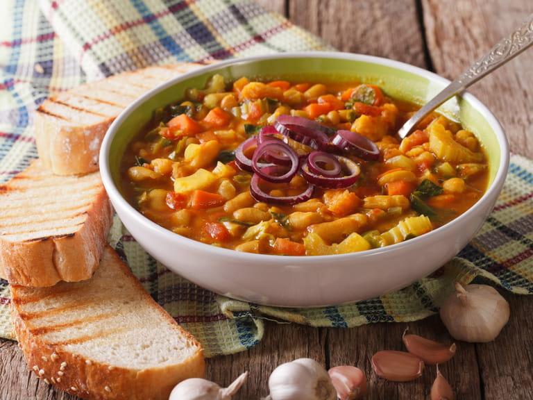 italian drink traditional italy ribollita stew tuscan soup thick saga