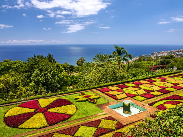 The Botanical Gardens in Funchal, Madeira