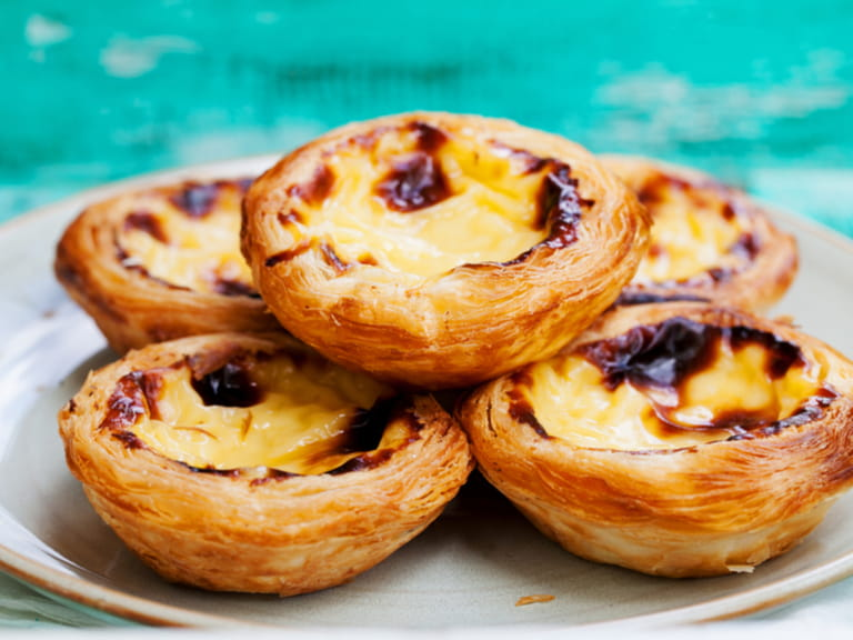Traditional Portuguese Custard Tart