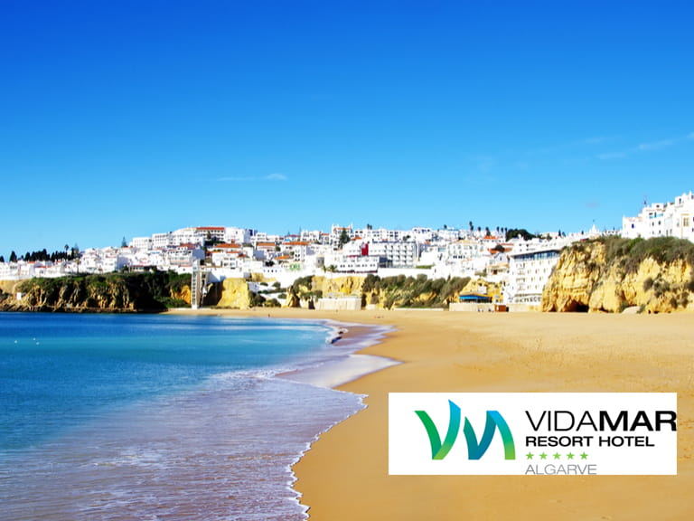Beach in Albufeira, Algarve