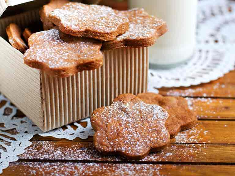 Swedish ginger biscuits