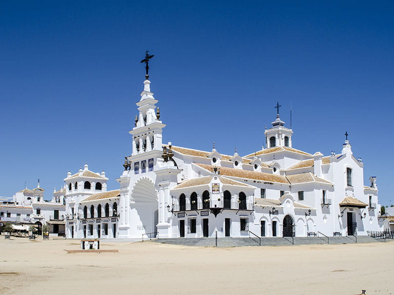 Aldea del Rocío in Huelva, Spain