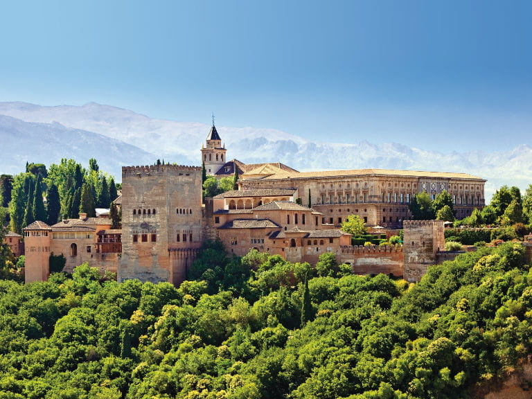 A view of the Alhambra, Spain