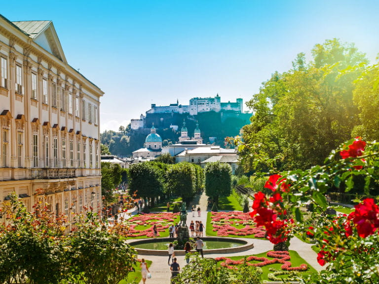 Mirabell Palace and Gardens, featured in The Sound of Music