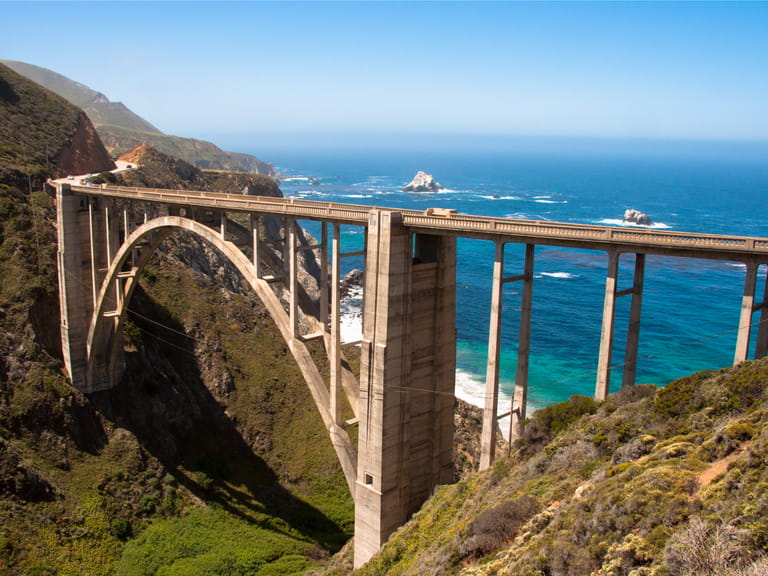Bixby Bridge, Highway 101, Big Sur - California USA=