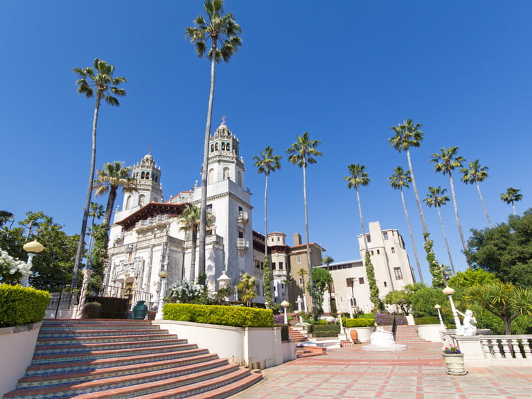 Hearst Castle, San Simeon, California=