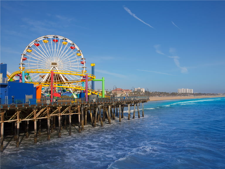 Santa Monica Pier, California=
