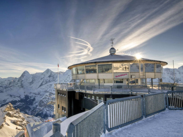 Piz Gloria, Switzerland, which was featured heavily in On Her Majesty's Secret Service