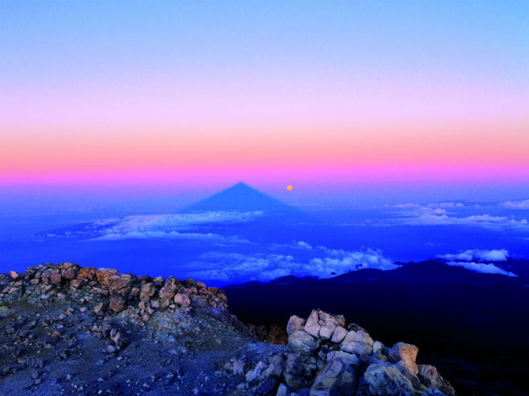Sunset at Teide National Park, Tenerife