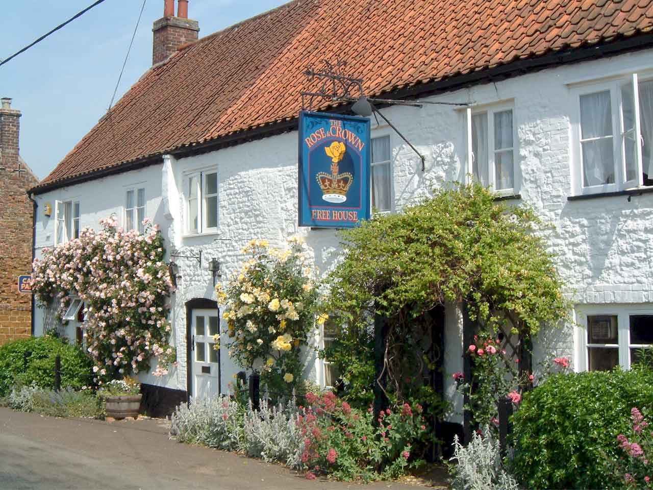 The Rose and Crown, Snettisham in Norfolk