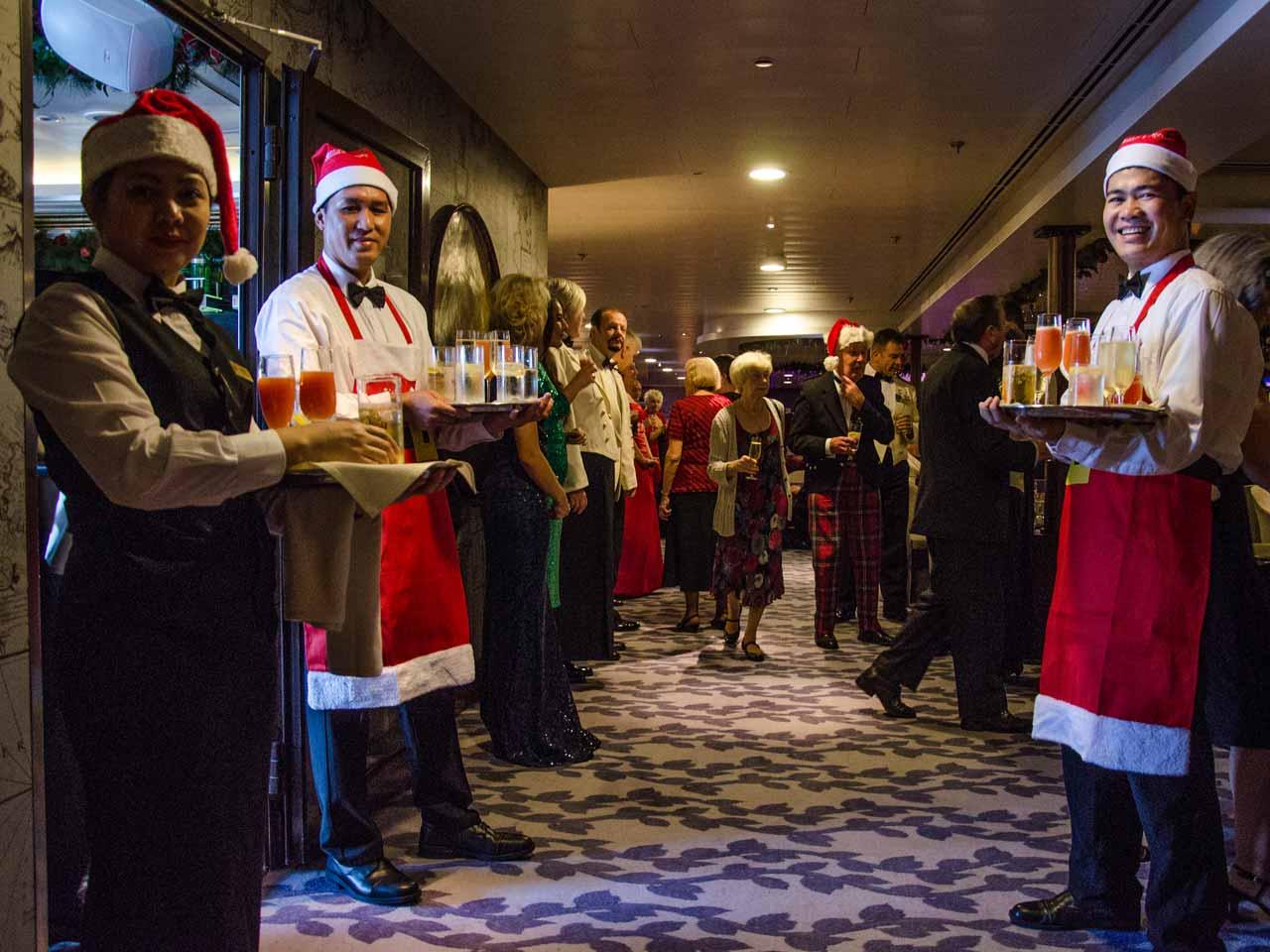 A Christmas Cruise.A Christmas Cruise On The Saga Sapphire Saga