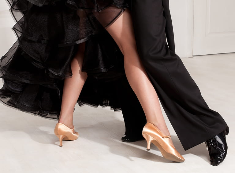 Pair of dancing shoes