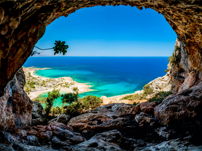 The island of Crete is a favourite for holiday makers due to its beautiful beaches and its position as epicentre of Minoan culture.