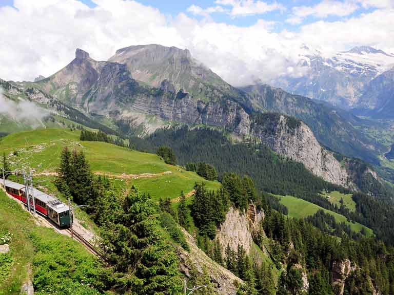 Swiss rail travel