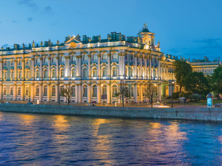 Winters Palace, The Hermitage, St Petersburg