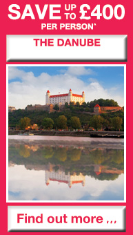 SAVE up to £400 per person on The Danube - Find out more...