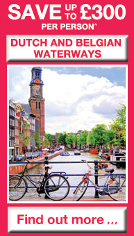 SAVE up to £300 per person on Dutch and Belgian Waterways - Find out more...