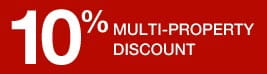 10% multi-property discount