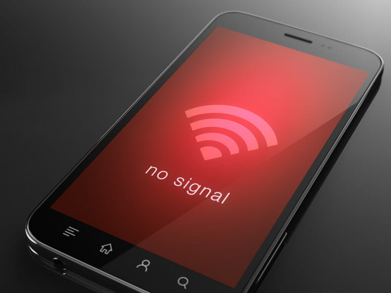 A weak signal isn't always just a result of how far you are from the nearest mobile phone mast