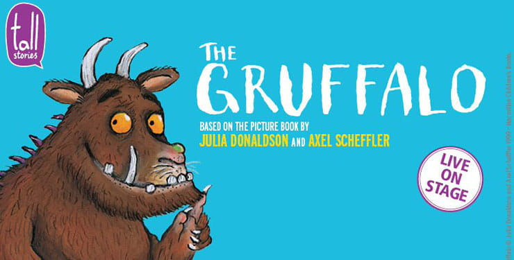 Oh help! Oh no! It's the Gruffalo!