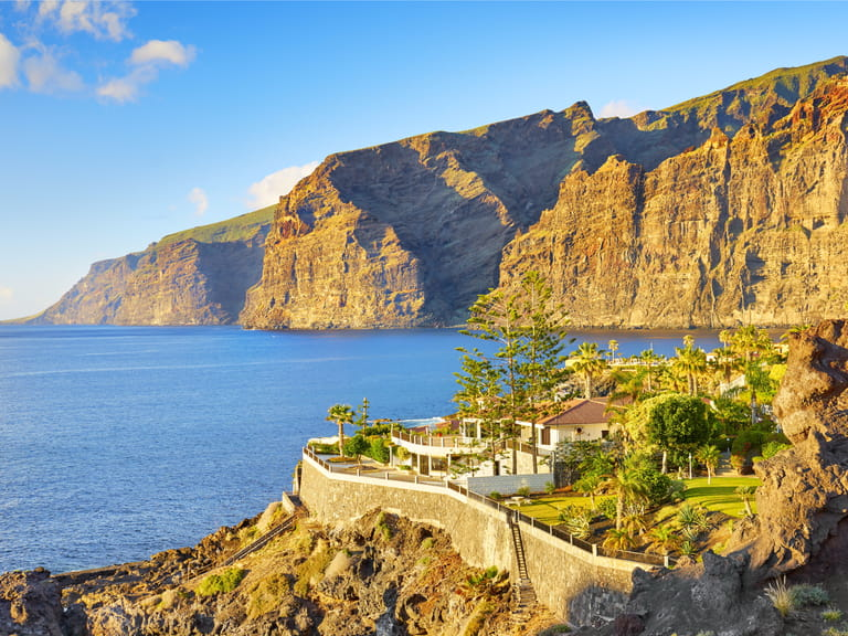 Los Gigantes Cliff, Canary Islands, Tenerife, Spain