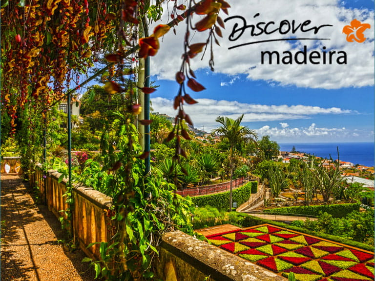 The Botnaical Gardens in Funchal, Madeira